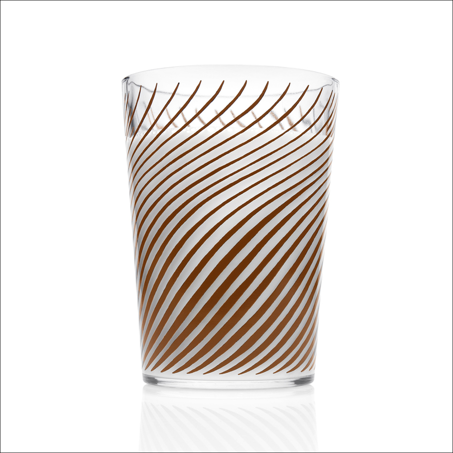 Cup With Brown Stripes
