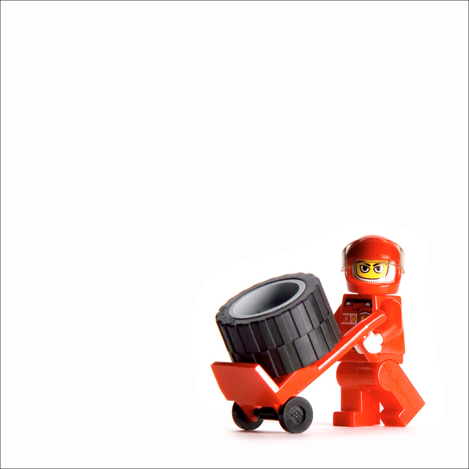 Red Lego Man
