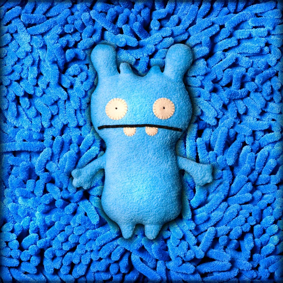 Ugly Blue Doll